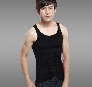 MENS hot sale muscle Sports Slimming Body Shaper Men's Breathable Tank Tops Vest
