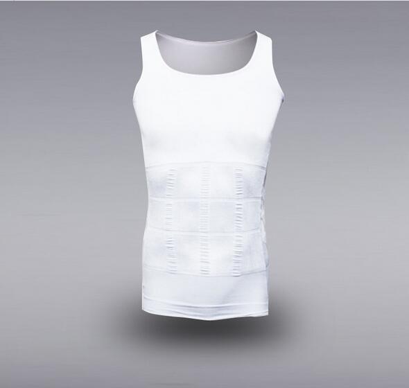 MENS hot sale muscle Sports Slimming Body Shaper Men's Breathable Tank Tops Vest