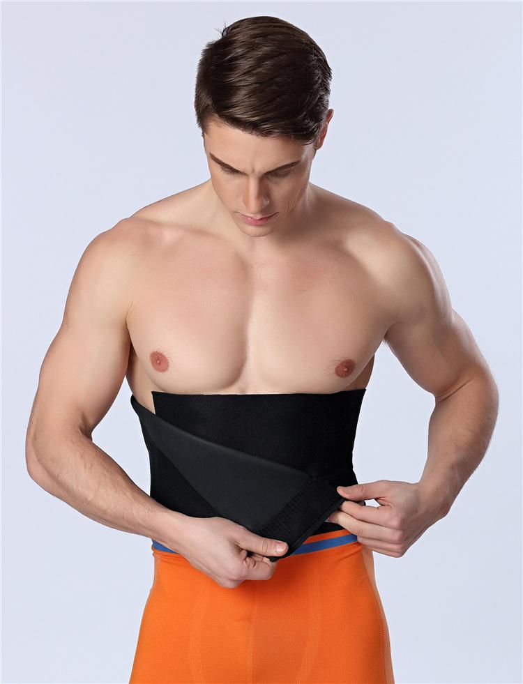 HOT Men Waist Cincher Slimming Belt Abdomen Shaper Girdle Fitness Men Body Shaper Belt Colorful Tummy Trimmer