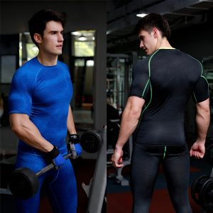 Mens Compression Sports Wear Men's Long Sleeve T Shirt Long T Shirt Slim Fit T Shirt Mens Slim Fit Suits Maxi
