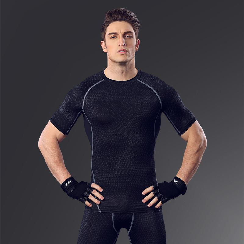 Mens Compression Sports Wear Men's Long Sleeve T Shirt Long T Shirt Slim Fit T Shirt Mens Slim Fit Suits Maxi