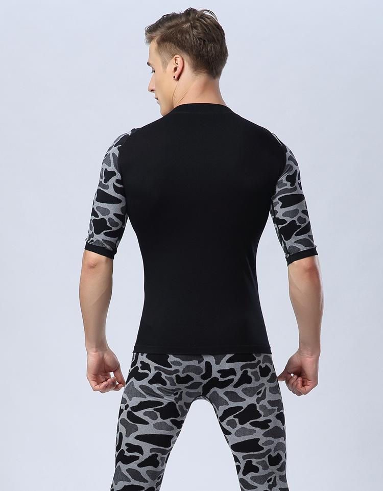 Wholesale mens gym custom tshirt custom polyester spandex short sleeve T-shirts compression blank dry fit tshirt