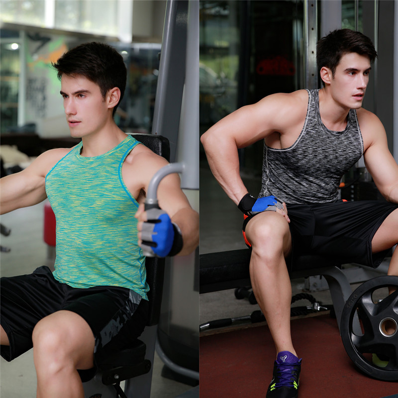 Manufacture Wholesale Slim Fit T Shirt For Men Compressed Running Fitness Wear