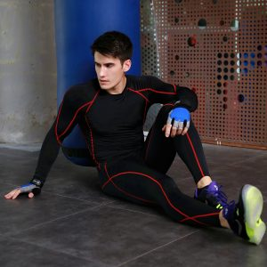 Men's Basketball Running Training Elastic Compression Quick - Fitness Jogger Pants drying Sports Stretch Tights Pants