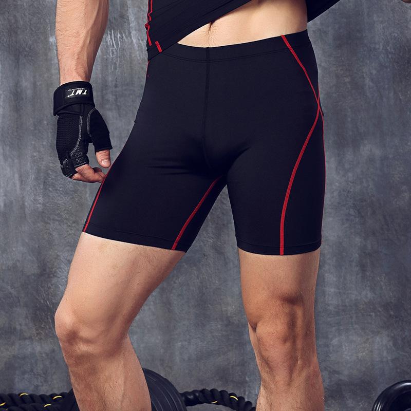 Fitness men's compression training running training trous short Pants
