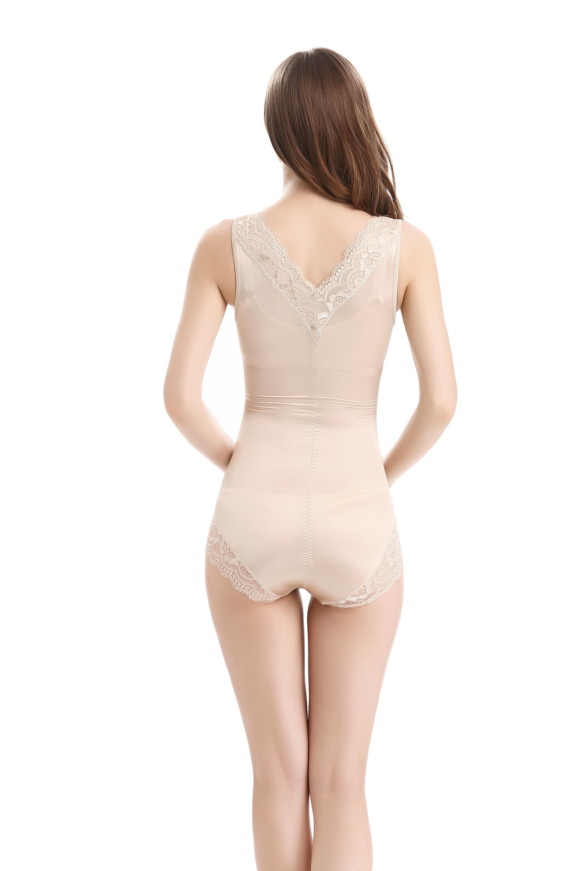 shapewear slimming vest abdomen siamese body shaper