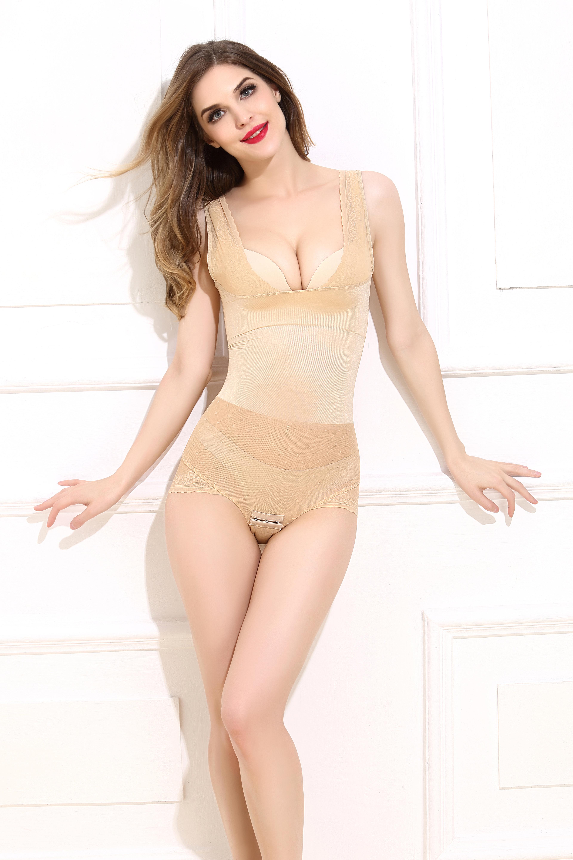 Slim shaper best shapewear beauty without traces backless body shaper