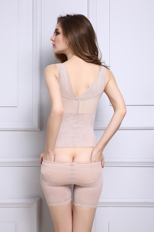 Shapewear flat legs abdomen breast care underwear body waist shaper