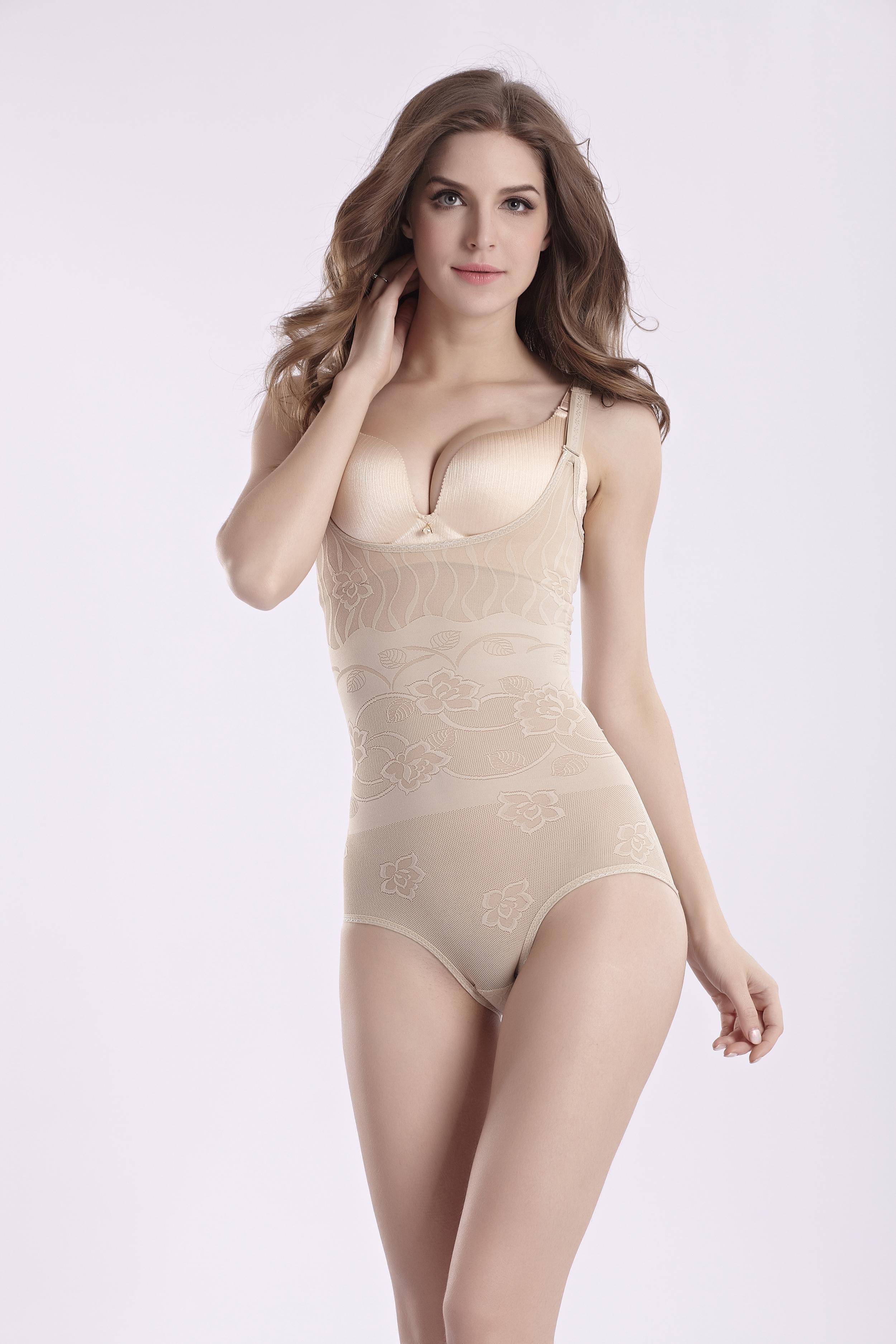 shapewear girdle breast up body shaper hot sale