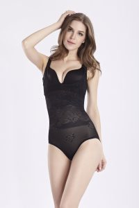 shapewear girdle breast up body shaper hot sale