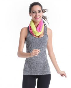 Manufacturers quick dry multi functional head scarf prevent embarrassment yoga sports wrapped chest