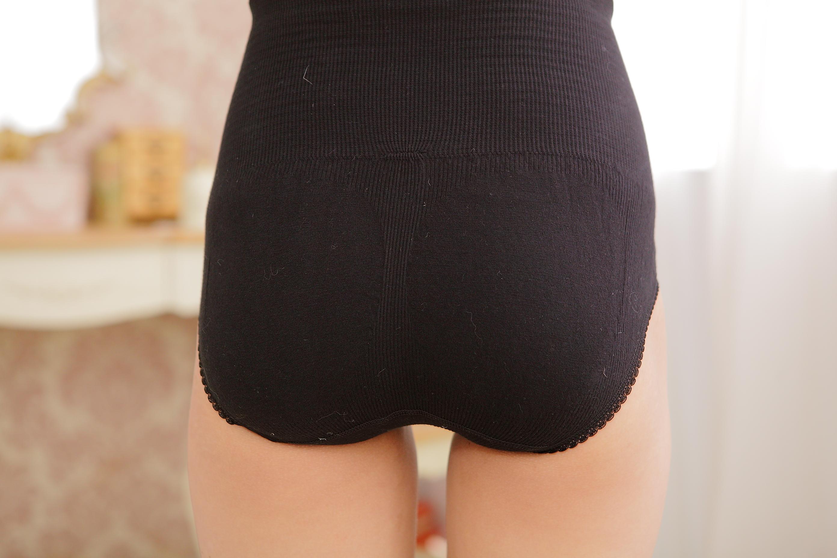 Women's sexy firm Control Shapewear Waist Trainer Cincher Panties High Waist Brief