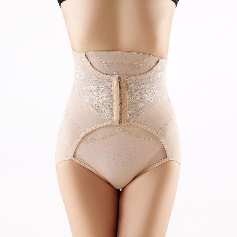 Slim Underwear Women Hot Shapers Butt Lifter Waist Trainer Body Shaper Shapewears Front Eyelet Hook Control Panties