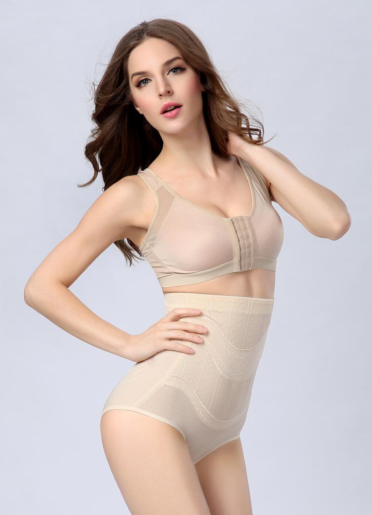 Wholesale Postpartum Shaping Briefs Slimming Underwear High Waist Abdomen Hip Up Body Sculpting Female brief Pants