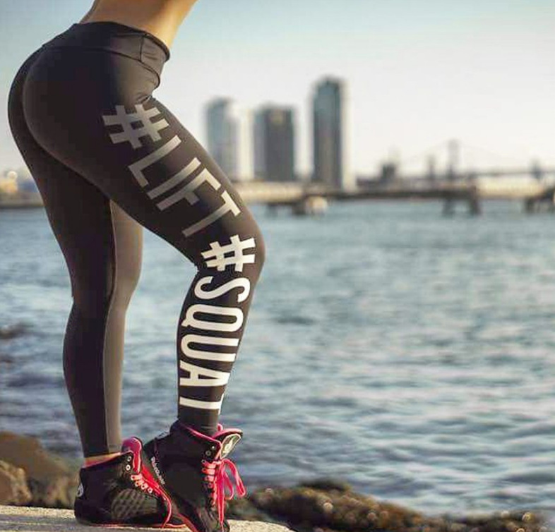 Custom quick dry sport leggings high elastic slim thin yoga pants for women