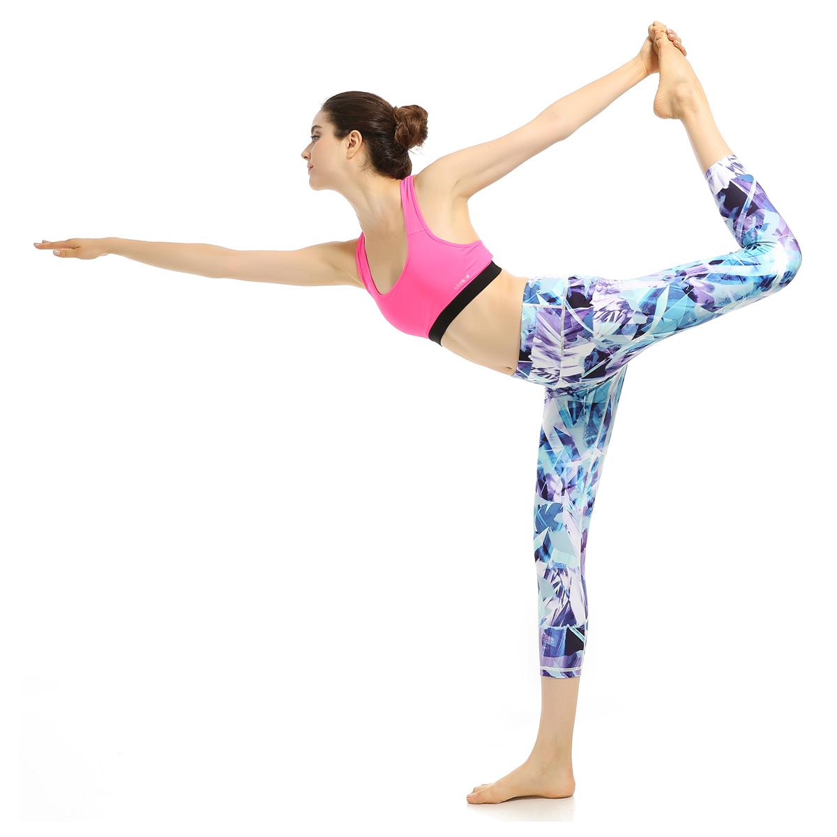 Sexy high waist yoga pants breathable yoga pants no panties