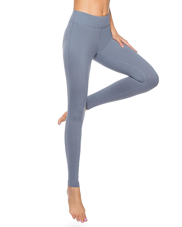 Womens sports compression pants high waisted workout leggings custom yoga pants
