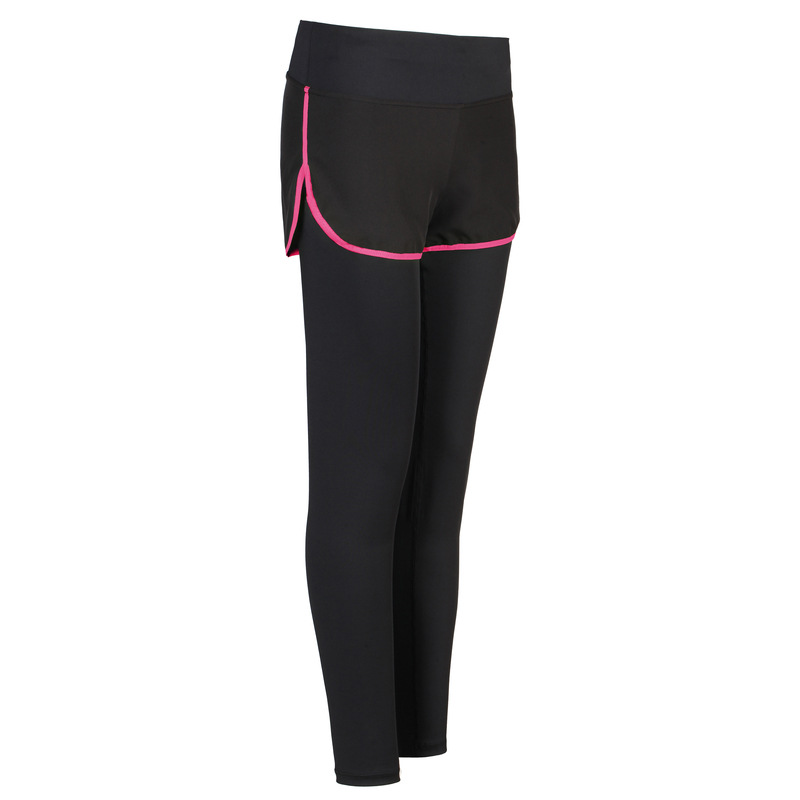 Factory direct Women Compression Wholesale Yoga Pants two pieces fitness pants outdoor quick dry tight running playing trousers