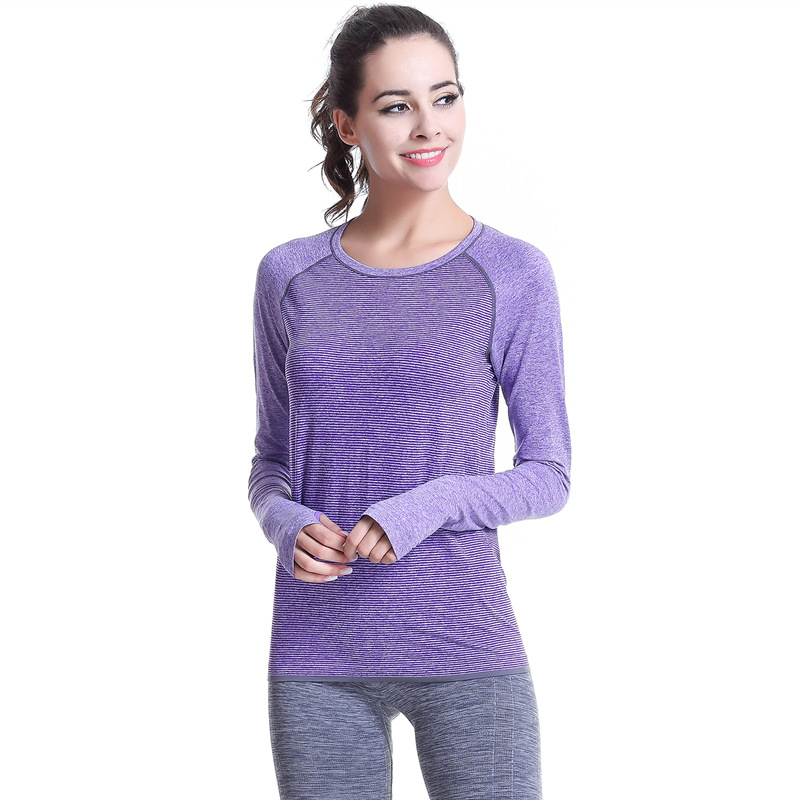 Manufacturers Dri Fit Tank Tops wholesale moisture dry yoga fitness running sports clothing Long Sleeve T Shirt Wholesale