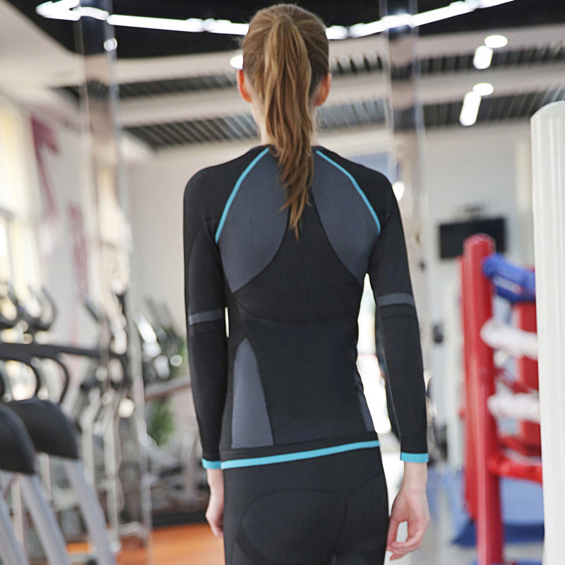 Wholesale China Yoga Clothing ladies outdoor quick dry Sports top Wear Women ski fitness running tights