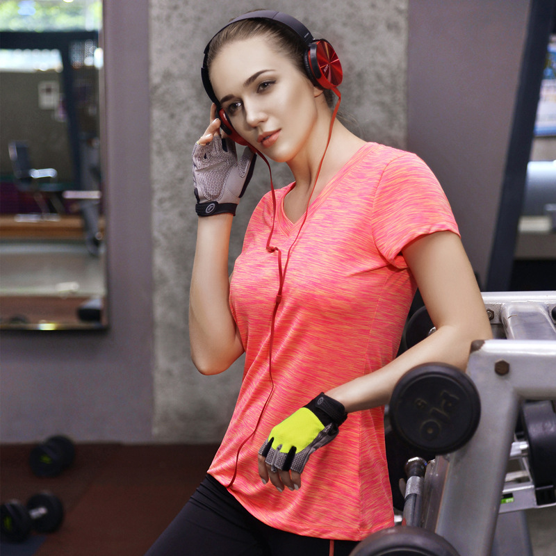 Women's elastic Wholesale Cheap sports Tanks tights running speed dry breathable shirt T shirt