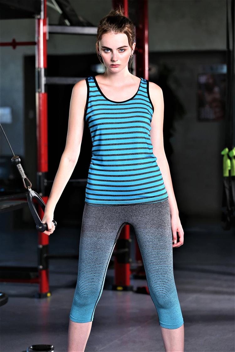 Women Professional yoga vest sleeveless Quick Drying Running Tank Tops Gym sport Yoga shirt fitness Vest