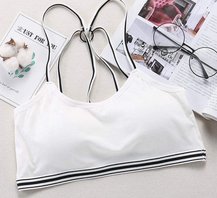 Wholesale trendy OEM sports bra custom breathable women sports bra