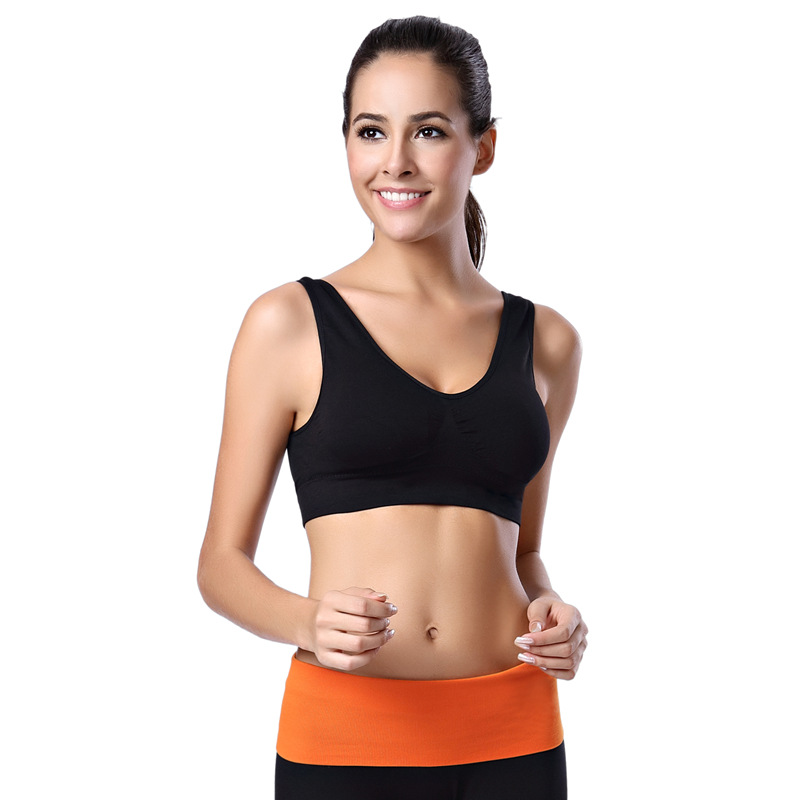 HOT Professional women sports bras GYM lady running fitness exercise quick-drying underwear training dancing Shockproof vest