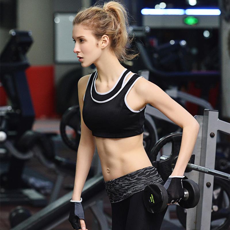 New Custom Hot Sexy Fashion Yoga Ladies Sublimation Printed fitness wear women's plain Women Sports Wear yoga bra